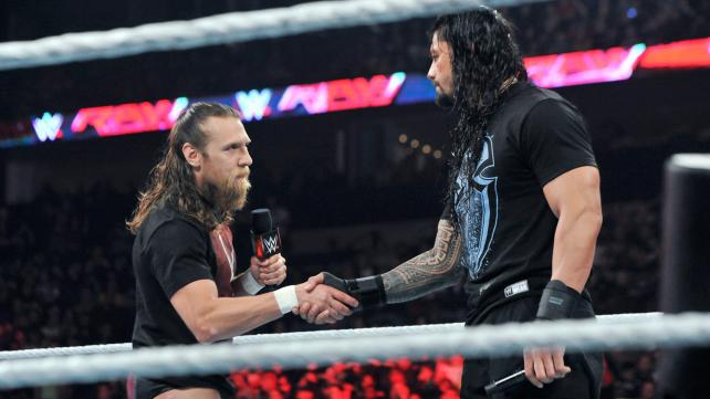 Image result for roman reigns and daniel bryan