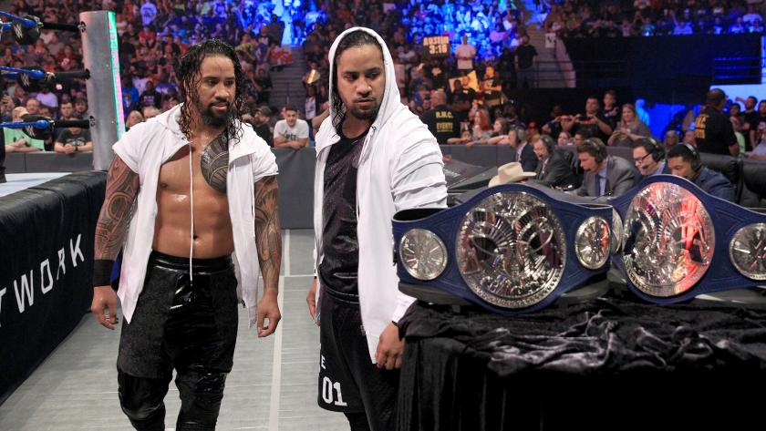 The Usos Tag Title Reign Should Start at WWE No Mercy
