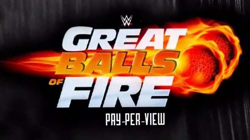 Great Balls Of Fire Wwe