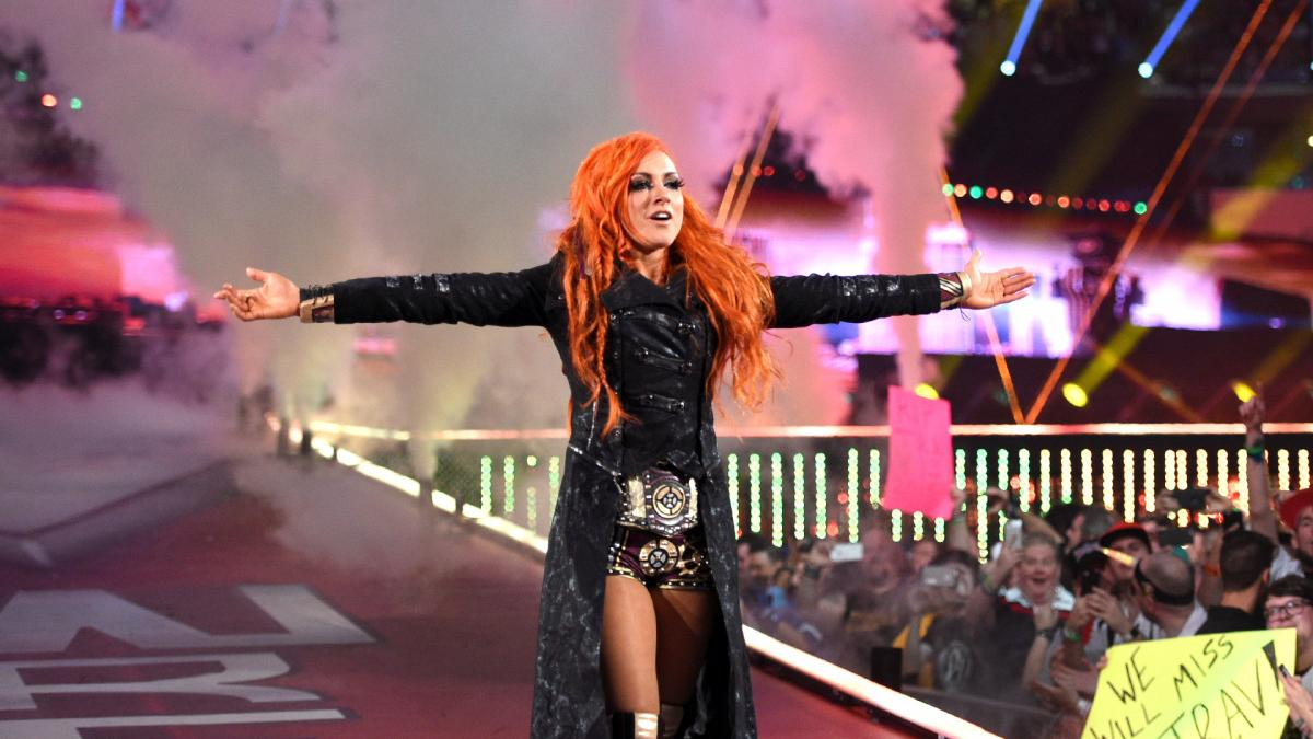 Becky Lynch Backlash Ring