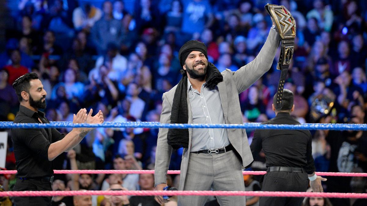 Jinder Mahal accepts Triple H's challenge for a one-on-one match in India