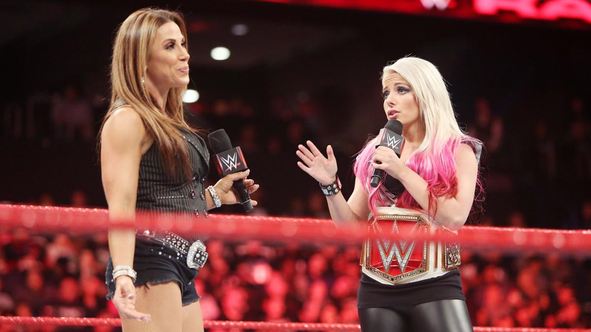Alexa Bliss vs. Mickie James set for WWE TLC