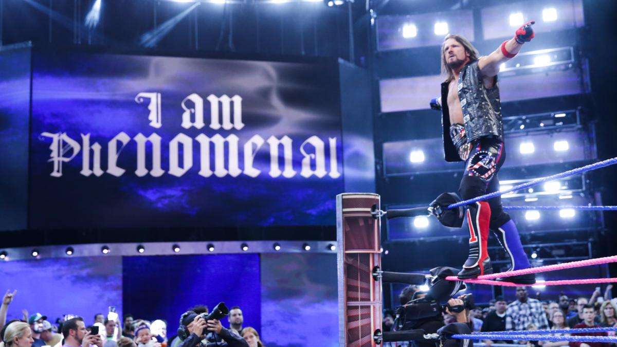 AJ Styles Wins WWE Title On SmackDown