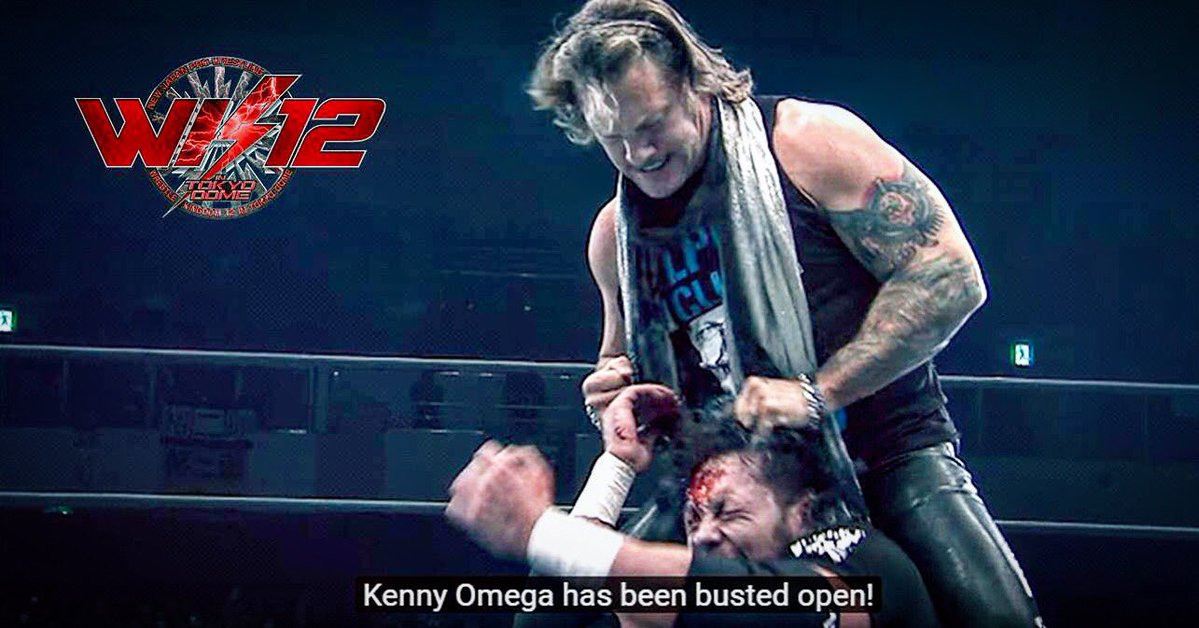 Chris Jericho's reaction to his Kenny Omega match at Wrestle Kingdom 12