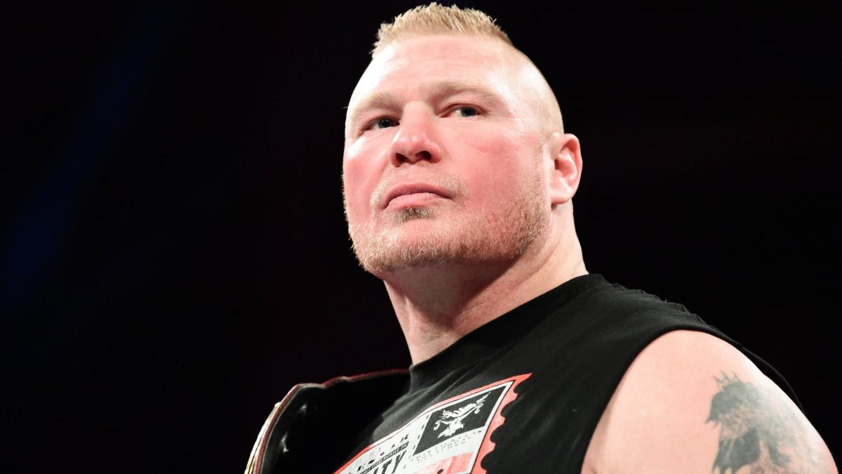 Brock Lesnar's WrestleMania stage set in intriguing fashion