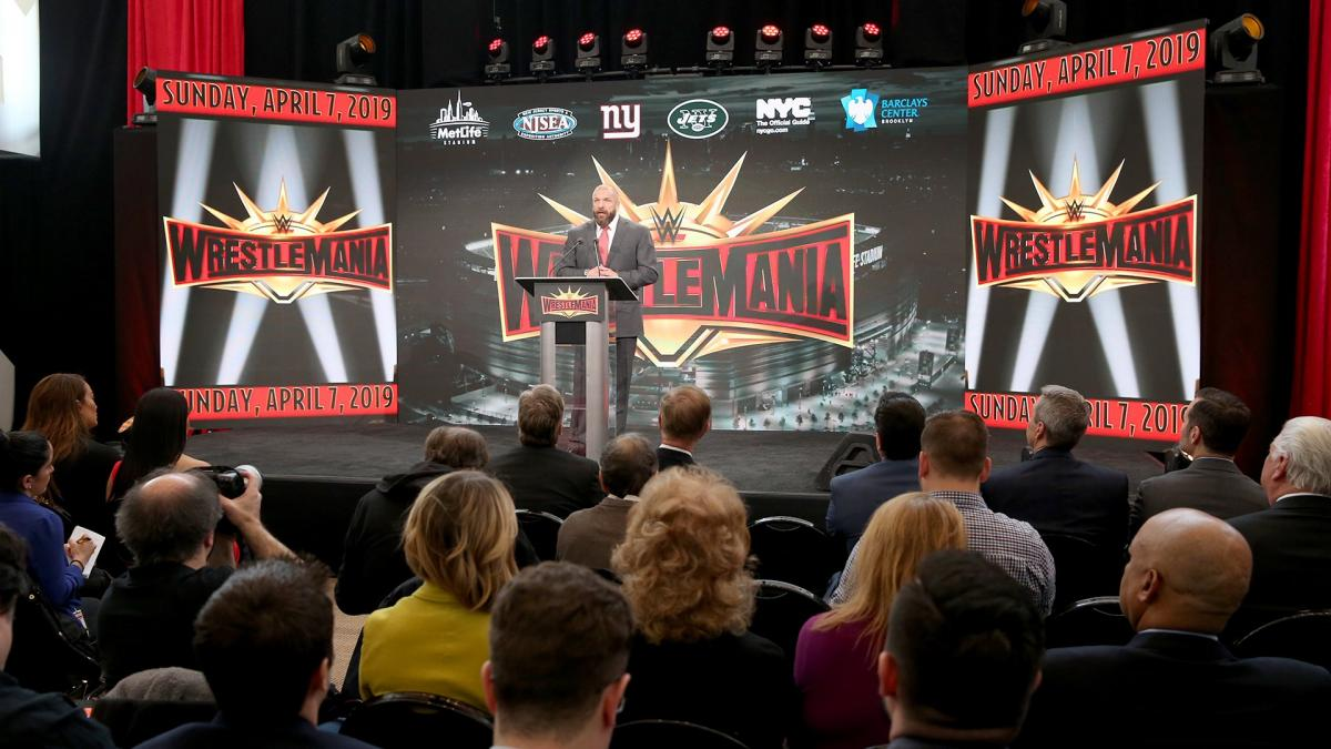 WrestleMania 35 press conference video