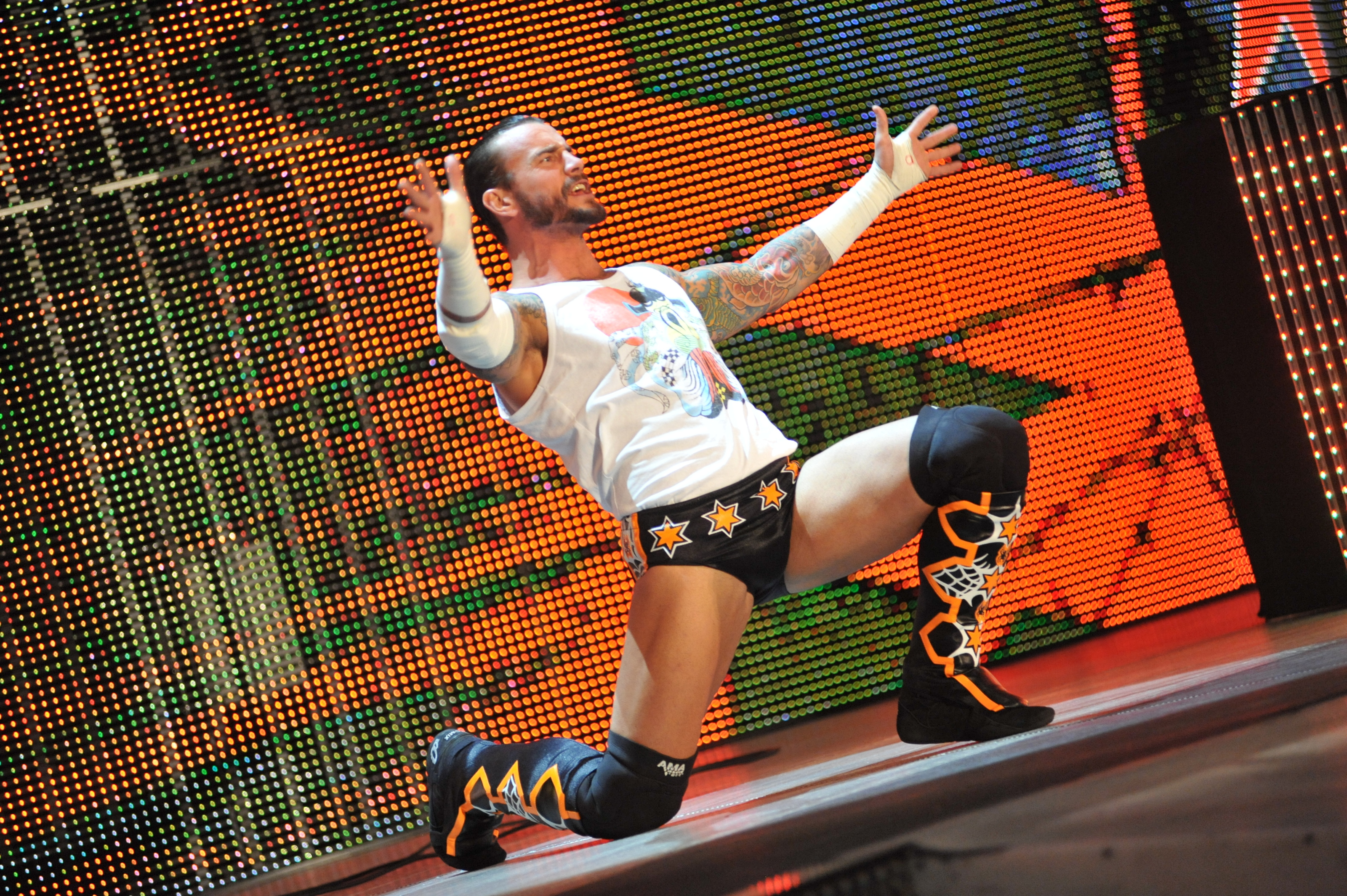 CM Punk Teases His Wrestling Gear For AEW All Out (Videos)